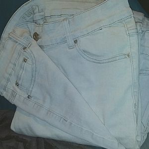 High Wasted Skinny Jeans: Size 16